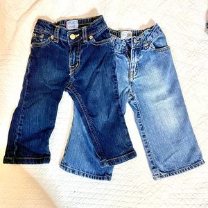 Lot of 2 the Children's place 12 mo jeans